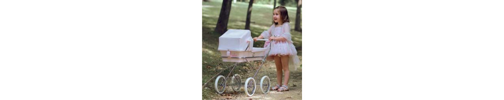 Carritos, coches y sillas de muñecas