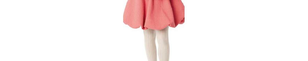 Leotardos canalé para niñas - Variedad en colores y tallas