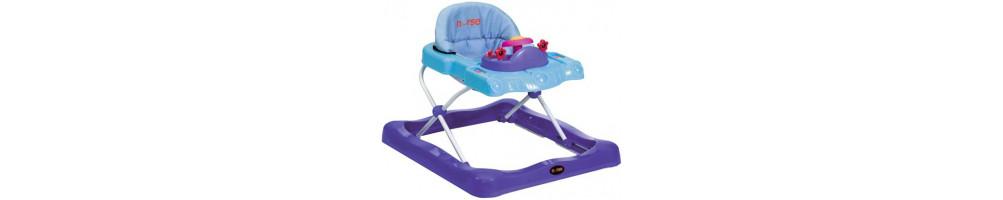 Andadores y correpasillos para tu bebé