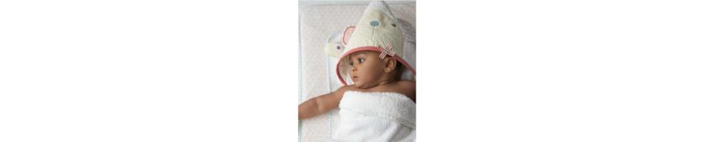 Toallas de baño para bebés y niños