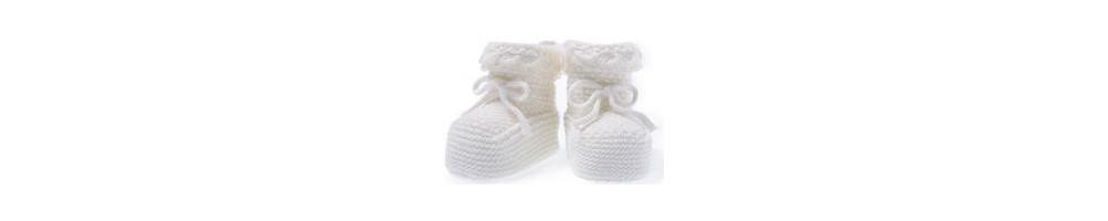 Zapatos para bebes y patucos